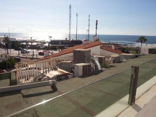 Villa Blanca Hotel & Spa : vue de la terrasse de la suite privilege :-(