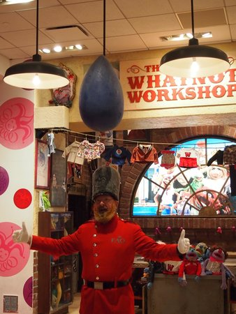 FAO Schwarz: The Muppet Whatnot Workshop ~ Toy Soldier Breakfast