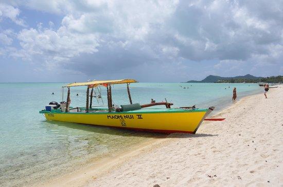Matira Beach: Beach