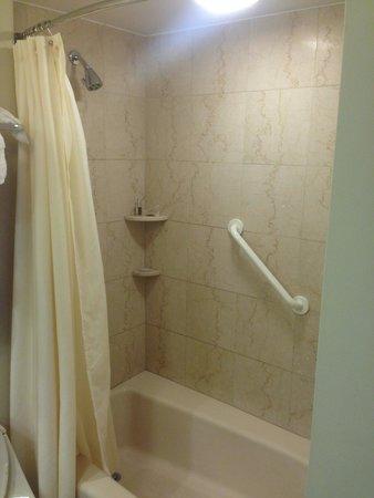 Lenox Hotel : Il triste bagno della camera 708. Neanche un tre stelle alla stazione termini di Roma ....