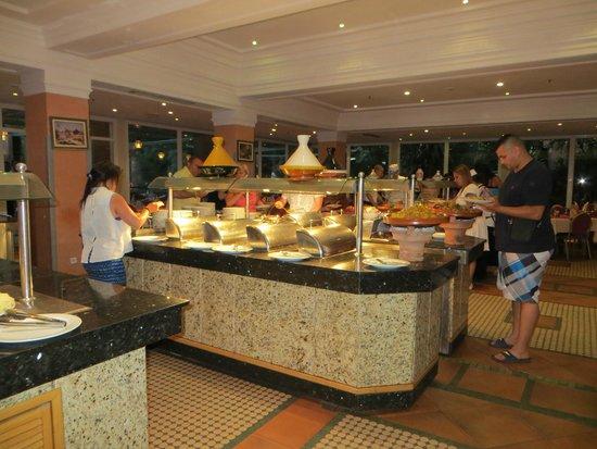 Hotel Farah Marrakech: Buffet