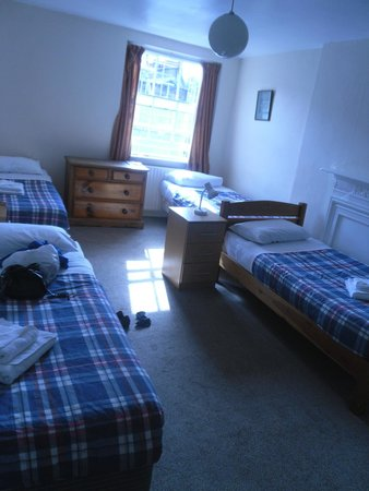 Pickwick Hall: chambre de 4