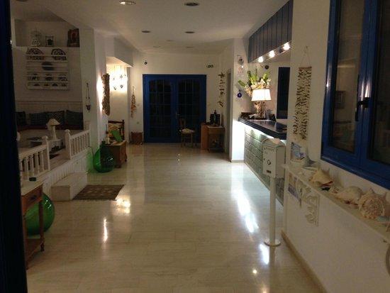 Lindos Sun Hotel: Entrée, réception