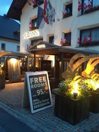 Albana Hotel & Lodge: Hotel Albana am 9.8. 2014