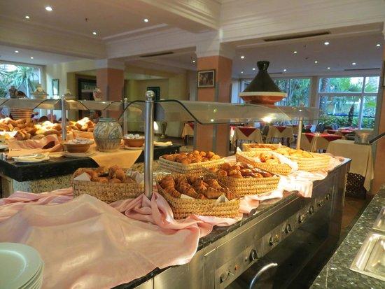 Golden Tulip Farah Marrakech: Ontbijt