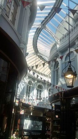Cardiff On Foot: My favourite place in the Arcades.