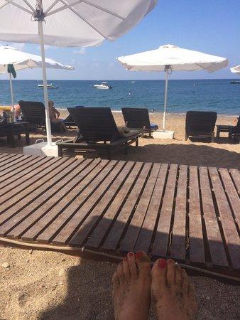Anassa Hotel: Gorgeous beach
