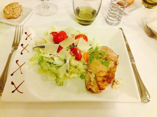 Hôtel Restaurant La P'tite Auberge : Cesar salad