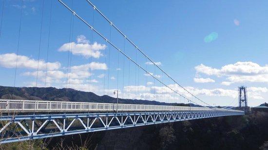 Ryujin Big Suspension Bridge: 橋の景観1