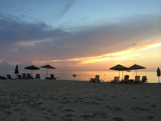 Beachcomber Grand Cayman: Sunset