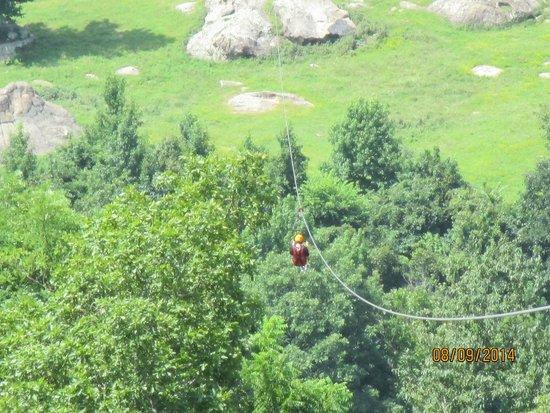 Horseshoe Canyon Ranch Zipline: Zip Line!