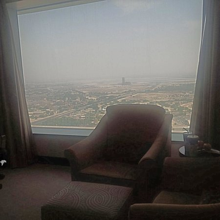 Conrad Dubai: View from my room taking by me