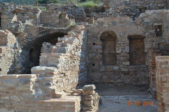 Vieille ville d'Éphèse : Ruins