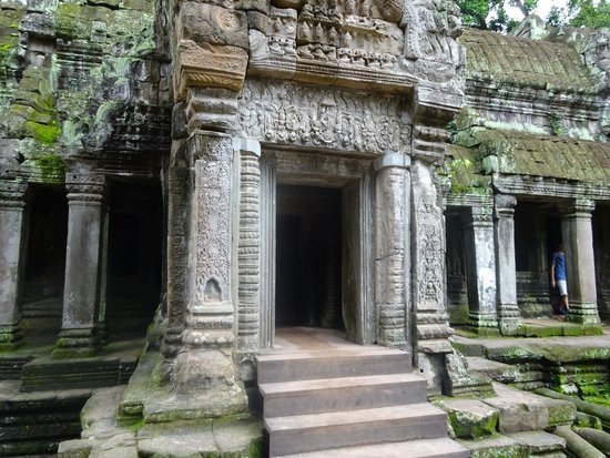 Private Siem Reap Tour Guide: Entryway - One of Many