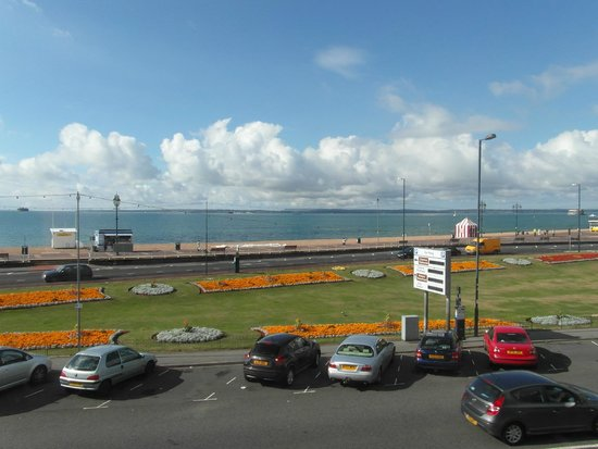 Ocean Hotel & Apartments: Across the Solent