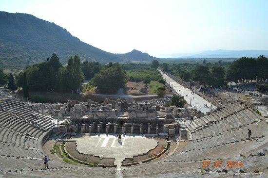 Vieille ville d'Éphèse : Odeon