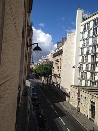 Hotel Val Girard: vista lateral da torre