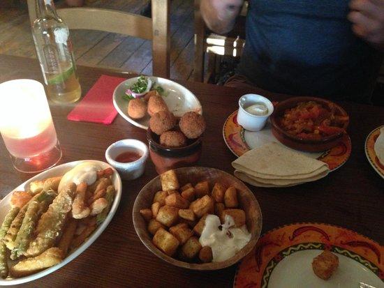 Bodega Tapas Bar: Selection of our dishes