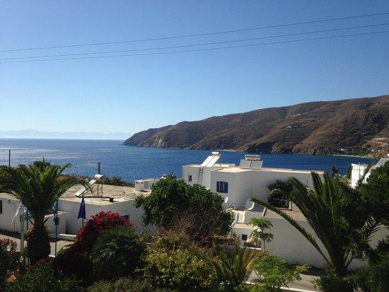 Gryspo's Hotel: Utsikt från sovrumsbalkongen