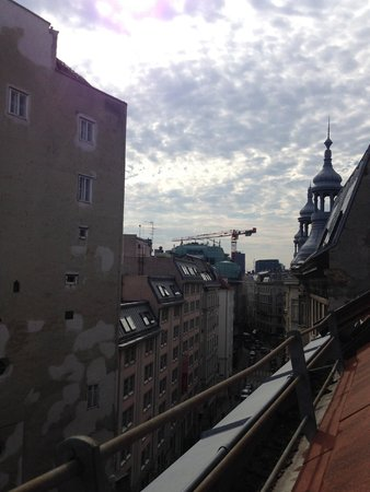 Mercure Wien Zentrum : Мансарда