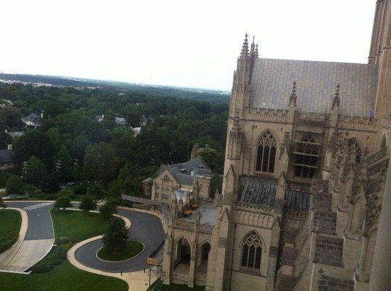 Washington National Cathedral : Панорама из окон собора