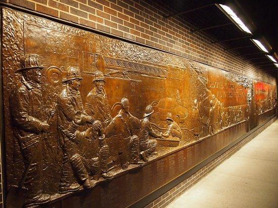 FDNY Memorial Wall : FDNY Memorial