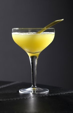 Sixtyone Restaurant: Have a cocktail before dinner in the Champagne bar