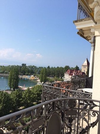 Beau-Rivage Palace : room with a view