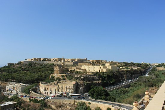 Grand Hotel Gozo: Lovely view room 705