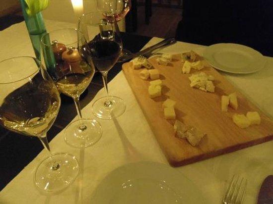 Restaurant Krebsegaarden : Wonderful cheese selection!