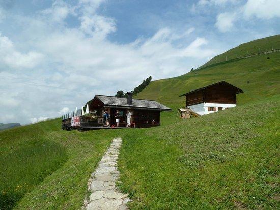 Baita Curona Hütte Seceda: Curona Hütte