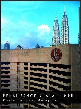 Renaissance Kuala Lumpur Hotel: The view