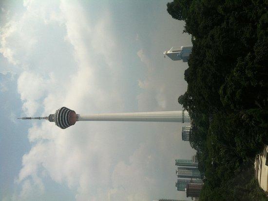 Renaissance Kuala Lumpur Hotel: City view
