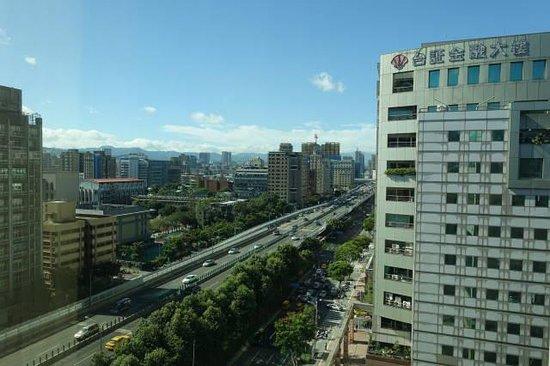 Green World Hotel Jian Pei Suites: 部屋からの眺め
