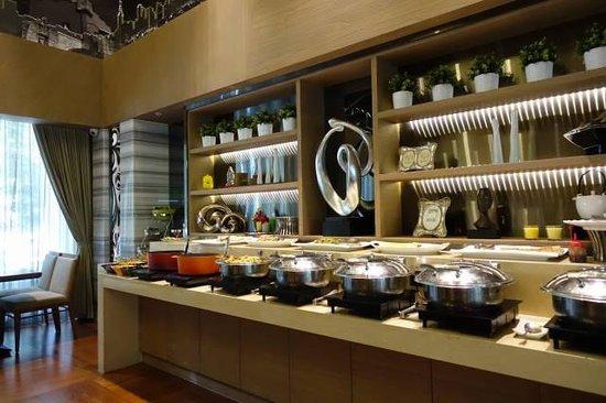 Green World Hotel Jian Pei Suites: 食堂1