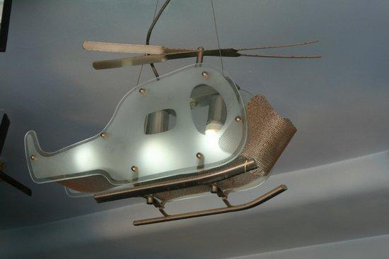 New Fly Restaurant : Вертолет
