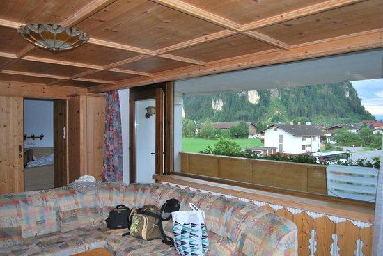 Hotel Cafe Zillertal: Habitación