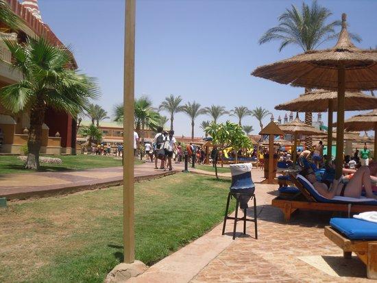 Aqua Blu Sharm: quiet pool view