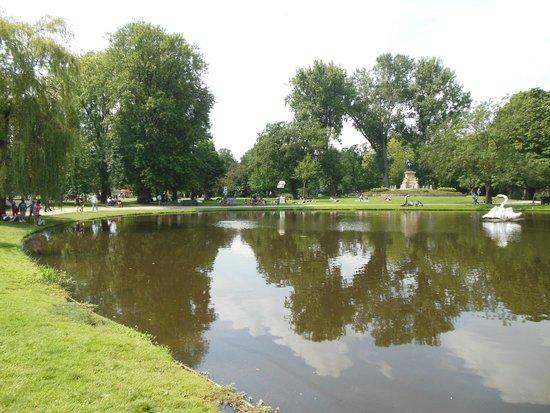 Vondelpark: Vista sul parco