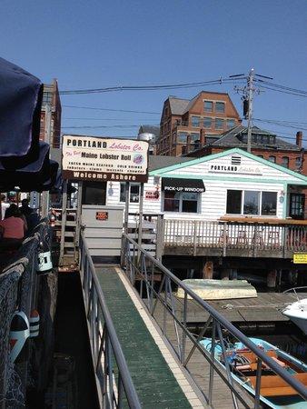 Portland Lobster Co: The restaurant