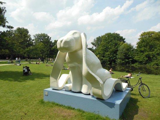 Vondelpark: Il coniglio