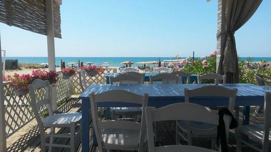 Oleandri Resort Paestum - Hotel Residence Villaggio Club: ristorante spiaggia