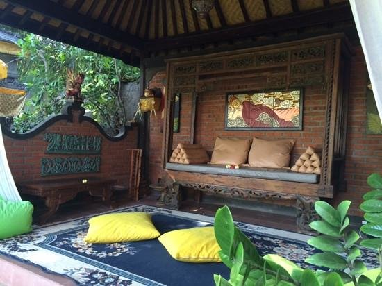 Rambutan Boutique Hotel: Petit salon pour lire ou mediter.....