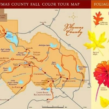 Quincy, CA: Best routes for fall color viewing