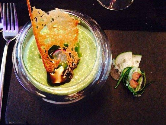 Senses Restaurant: Vegetarische soep