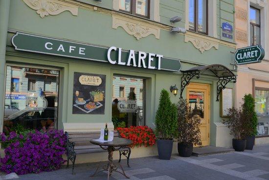 Helvetia Deluxe Hotel: Cafe Claret