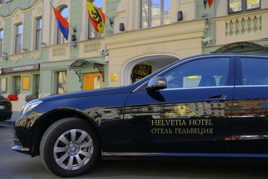 Helvetia Deluxe Hotel: Hotel's Cars