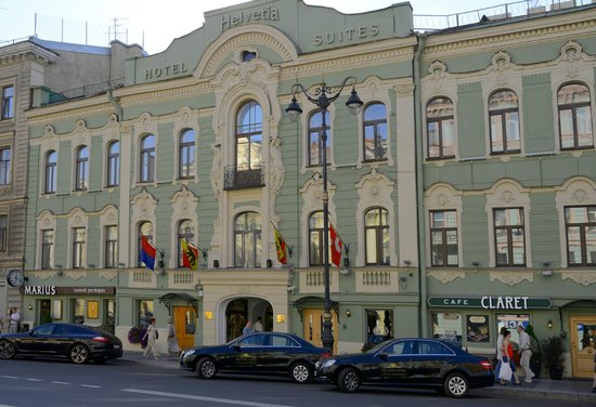 Helvetia Deluxe Hotel: Hotel's Facade