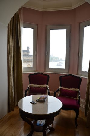 The Taj Mahal Palace: the  room with a view