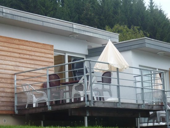 VVF Villages Saales: terrasse